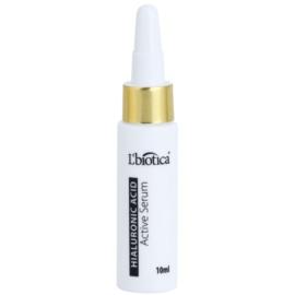 L'biotica Active Serum Hyaluronic Acid festigende Feuchtigkeitspflege mit regenerierender Wirkung  10 ml