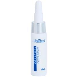 L'biotica Active Serum Collagen protivrásková péče s liftingovým efektem  10 ml