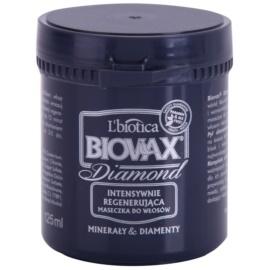 L'biotica Biovax Glamour Diamond erősítő maszk a haj tökéletes kinézetéért  125 ml