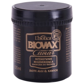 L'biotica Biovax Glamour Caviar поживна відновлююча маска з чорною ікрою  125 мл