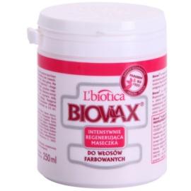 L'biotica Biovax Colored Hair regenerační maska pro barvené vlasy  250 ml