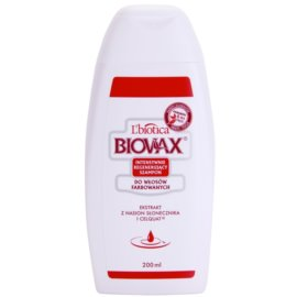 L'biotica Biovax Colored Hair hranilni šampon za barvane lase  200 ml