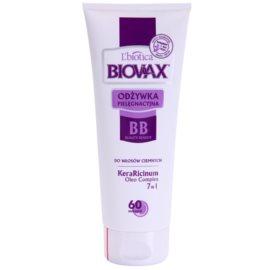 L'biotica Biovax Dark Hair tápláló kondícionáló az erős és fénylő hajért  200 ml