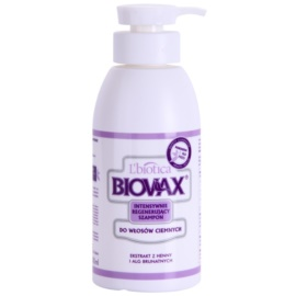 L'biotica Biovax Dark Hair orzeźwiający szampon do włosów farbowanych  400 ml