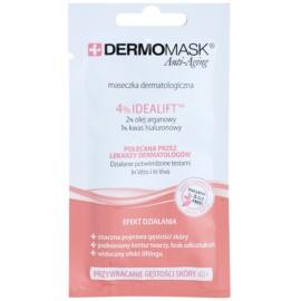 L'biotica DermoMask Anti-Aging maska pro obnovu hutnosti pleti 40+  12 ml