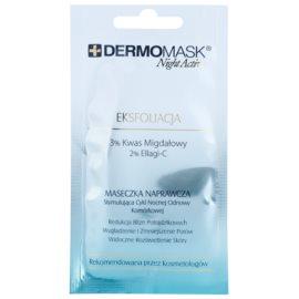 L'biotica DermoMask Night Active máscara esfoliante para pele desgastada  12 ml