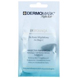 L'biotica DermoMask Night Active maseczka oczyszczająco - złuszczająca do odnowy powierzchni skóry  12 ml