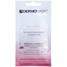 L'biotica DermoMask Night Active intenzivní omlazující maska s kmenovými buňkami  12 ml