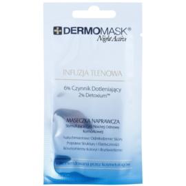 L'biotica DermoMask Night Active maseczka dotleniająca  12 ml