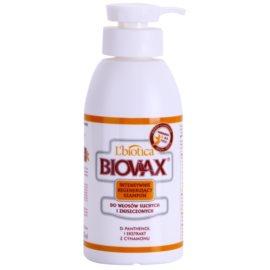 L'biotica Biovax Dry Hair відновлюючий шампунь для сухого або пошкодженого волосся  400 мл