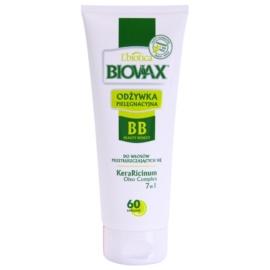 L'biotica Biovax Dull Hair feuchtigkeitsspendender Conditioner für fettiges Haar und Kopfhaut  200 ml
