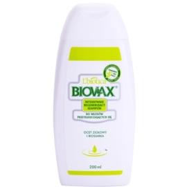 L'biotica Biovax Dull Hair ápoló és erősítő sampon zsíros hajra és fejbőrre  200 ml