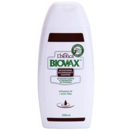 L'biotica Biovax Falling Hair stärkendes Shampoo gegen Haarausfall  200 ml