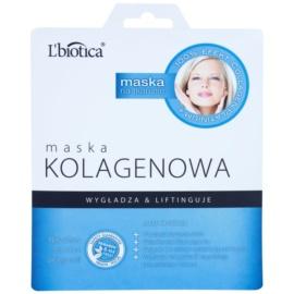 L'biotica Masks Collagen Platinium plátýnková maska s kolagenem  23 ml