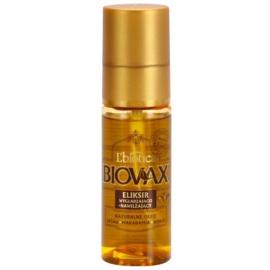 L'biotica Biovax Natural Oil sérum hidratante e nutritivo para cabelo brilhante e macio  50 ml