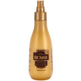 L'biotica Biovax Natural Oil dvoufázový hydratační sprej pro suché a křehké vlasy  200 ml