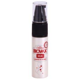 L'biotica Biovax Silk sérum regenerador para reforçar e dar brilho ao cabelo  15 ml