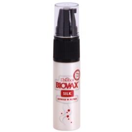 L'biotica Biovax Silk Herstellende Serum  voor Versterking en Glans van Haar   15 ml