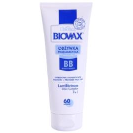 L'biotica Biovax Weak Hair krepilni balzam za šibke lase  200 ml