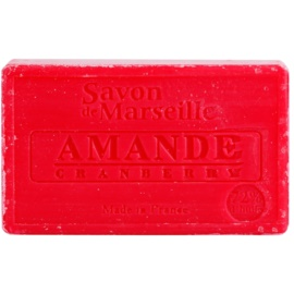Le Chatelard 1802 Almond Cranberry Luxurious Natural French Soap  100 g