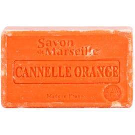 Le Chatelard 1802 Orange Cinnamon luxusní francouzské přírodní mýdlo  100 g