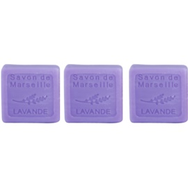 Le Chatelard 1802 Lavender luxusné francúzske prírodné mydlo  3 ks