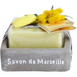 Le Chatelard 1802 Milk Vigne luxusní francouzské mýdlo s mýdelníkem  100 g