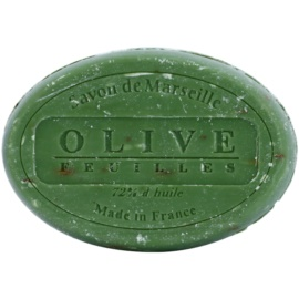 Le Chatelard 1802 Olive Leaves kulaté francouzské přírodní mýdlo  100 g