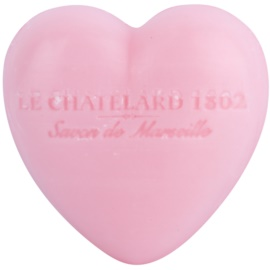 Le Chatelard 1802 Rose & Peony jabón en forma de corazón   25 g