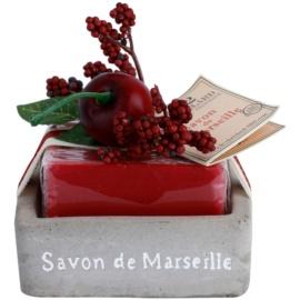 Le Chatelard 1802 Cherry luxuriöse französische Seife mit Seifenschale  100 g