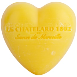 Le Chatelard 1802 Tangerine & Lime jabón en forma de corazón   25 g