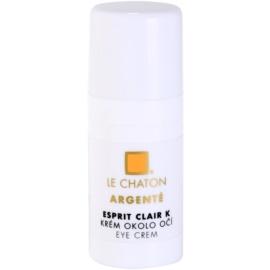 Le Chaton Argenté Esprit Clair K krém na oční okolí  15 g