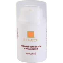 Le Chaton Argenté výživný denní krém s vitamínem E  50 g