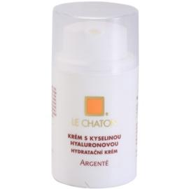Le Chaton Argenté pleťový krém s kyselinou hyaluronovou  50 g