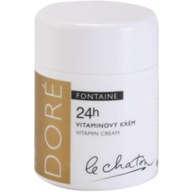 Le Chaton Doré Fontaine crema pentru ten  cu vitamine  50 g