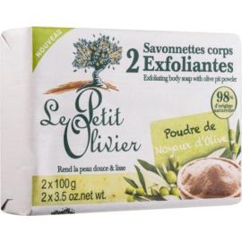 Le Petit Olivier Olive Exfoliating Bar  2 x100 g
