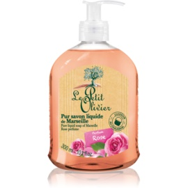 Le Petit Olivier Bath & Shower Rose Liquid Soap  300 ml
