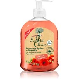 Le Petit Olivier Bath & Shower Coquelicot Flüssigseife  300 ml