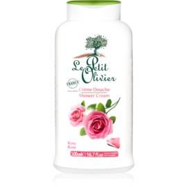 Le Petit Olivier Bath & Shower Rose Shower Cream  500 ml