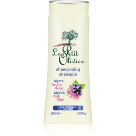 Le Petit Olivier Hair Myrtle & Pink Clay shampoo per capelli grassi  250 ml
