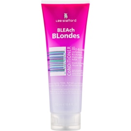 Lee Stafford Bleach Blondes Conditioner für blonde Haare  250 ml