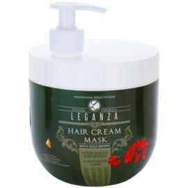 Leganza Hair Care krémová maska s výtažkem z kustovnice čínské  1000 ml