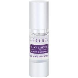 Leganza Lavender beruhigendes Serum für das Gesicht  30 ml