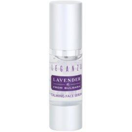 Leganza Lavender успокояващ серум за лице  30 мл.
