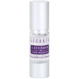 Leganza Lavender zklidňující sérum na obličej  30 ml