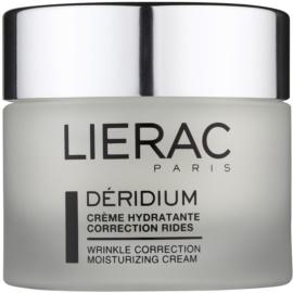Lierac Deridium crema de día y noche hidratante con efecto antiarrugas para pieles normales y mixtas  50 ml