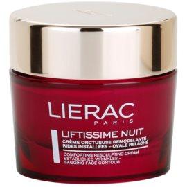 Lierac Liftissime Nachtcremem zur Wiederherstellung der Hautdichte für alle Hauttypen  50 ml