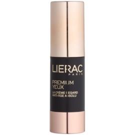 Lierac Premium crema de ojos para cuidado complejo antiarrugas, antibolsas y antiojeras  15 ml