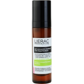 Lierac Prescription zmatňující koncentrovaný gel pro problematickou pleť, akné  50 ml