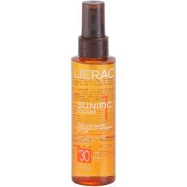 Lierac Sunific 1 olej na opalování SPF 30  125 ml
